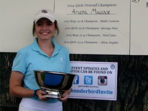 Ari Wins The Thunderbird Invitational against the Top Players in the State